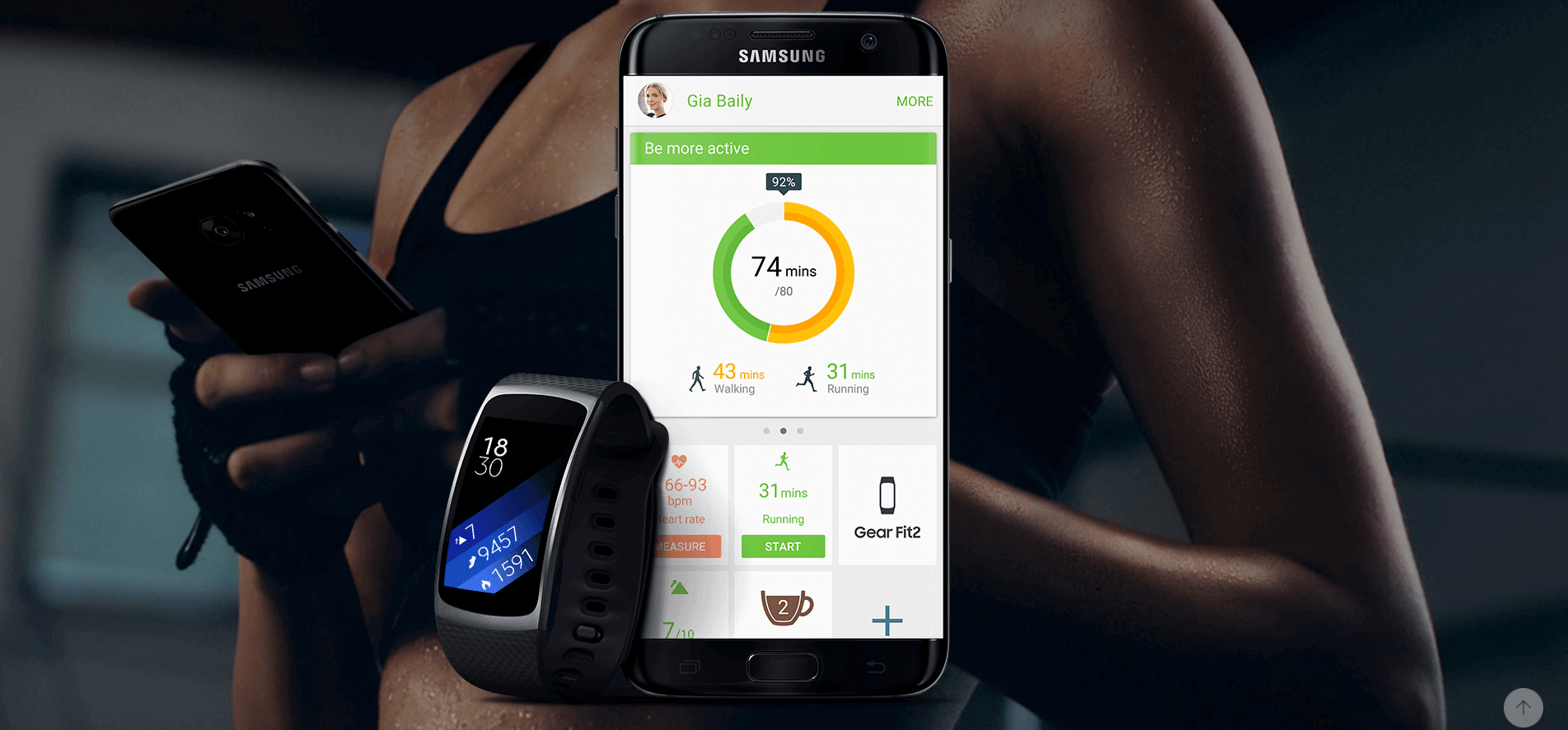 bracelet-connecte-samsung-gear-fit-2