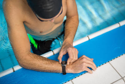 NOKIA STEEL HR natation