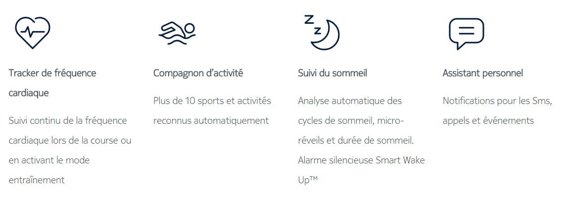 sports supportes par nokia steel hr