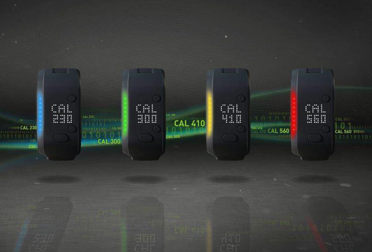 projet chamelon bracelet connecte adidas